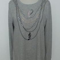 Nwt New Lecare Heather Gray Pink Ribbon Hope Ls Shirt Top Sz  2xl 2x Photo