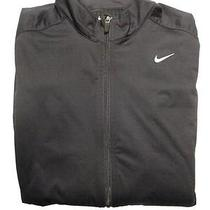 Nwt New Nike Men's Running Dri-Fit Nike Elements Shield Fz Black Jacket Size L Photo