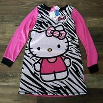Nwt New Sanrio Hello Kitty Girls Pjs Pajamas Sleepwear Size 8 Photo