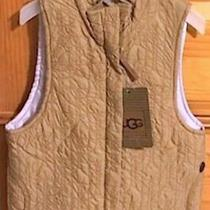 Nwt New Ugg Australia Chestnut / Plum (Lilac) Signature Quilted Vest Size 4 Photo