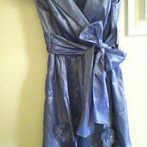 Nwt Nice Women's Dress Adrianna Papell Size 8 P reg.180.00 Cap Sleeve   Photo