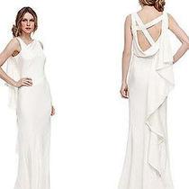 Nwt Nicole Miller Vanessa Sheath Wedding Gown Dress Size 4 Photo