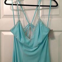Nwt Night Moves - Prom Collection -  Gorgeous Aqua Gown - Size 10 Photo