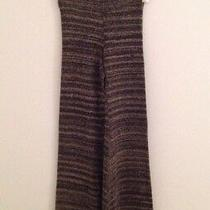 Nwt Nightcap Black & Tan Flare Sweater Pant Size 3 Photo