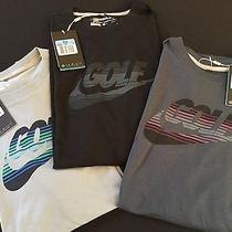 Nwt Nike Cotton Dri Fit Tees 3 Pack Slim Fit Photo
