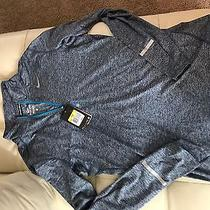 Nwt Nike Dry Element Long Sleeve 1/2 Zip Pullover Small Gray 683485 Running Photo