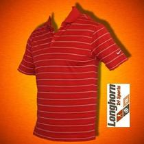 Nwt Nike Golf Dri Fit Tech Striped Polo Shirt Xl 50 Longhorn Tri Sports Photo