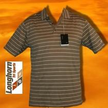 Nwt Nike Golf Sphere Dry Polo Shirt Mens Large 65 Stripe Longhorn Tri Sports Photo