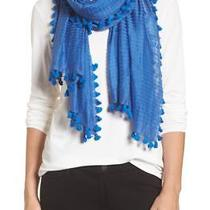 Nwt Nip 158 Eileen Cotton Silk Pompom Catalina Blue 72