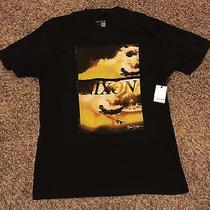 Nwt Nixon Surf Fuji Brian Bielmann Black Short Sleeve T-Shirt Men's Xl Photo