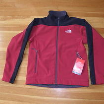 Nwt North Face Draken Jacket Coat Biking Red Men's Small Photo
