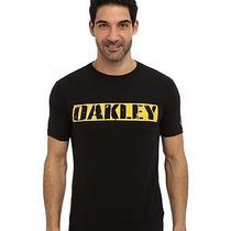 Nwt Oakley Scrap Metal  Mens T-Shirt Black Large Modern Fit Photo