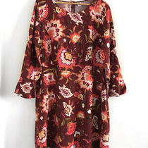 Nwt Old Navy Floral Dress Womens Size 16 Ref  Photo