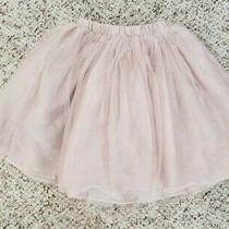 Nwt Old Navy Girls Blush Pink Tutu Skirt W/ Elastic Waist Sz 12-18m Photo