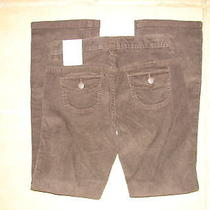 Nwt Old Navy Girls Corduroy Cord Pants Size 10 Brown Boot Cut New School Photo