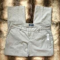Nwt Old Navy Harper Mid-Rise Gray Pants Soft Casual Petites Size 14p  Photo