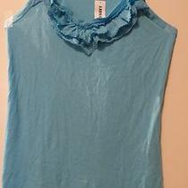 Nwt Old Navy Knit Tank Top Sky or Aqua Blue Size Small Photo
