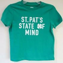 Nwt Old Navy St. Pat's State of Mind St. Patrick's Day Shirt Size 8 Photo