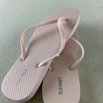 Nwt Old Navy Womens Sz 10 Ballet Blush Light Pink Flip Flop Thong Sandal Photo