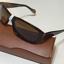 Nwt Oliver Peoples Men's Primo 362/hrn Vfx Polarized Sunglasses 56/18/135 Photo