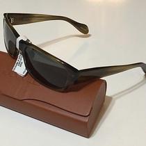 Nwt Oliver Peoples Men's Primo Ot Olive Vfx Polarized Sunglasses 56/18/135 Photo
