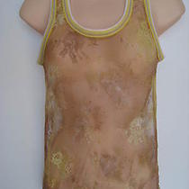 Nwt Only Hearts Nyc Ombre Lace See Through Lace With Knit Trim Top S Photo