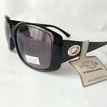 Nwt Oscar by Oscar De La Renta 1191 100% Authentic Black  Sunglasses /2521/ New Photo