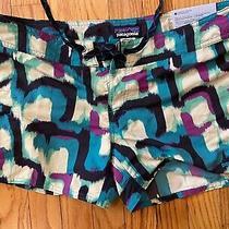 Nwt Pantagonia Womens Wavefarer Board Shorts Size 8 Photo