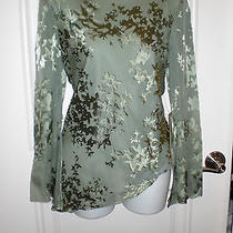 Nwtpapell Boutique Evening100 % Silk Beaded Sequined Blouse Topsret 145 Photo
