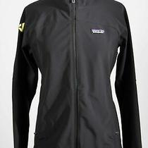Nwt Patagonia Black Polyester Blend Full Zip Adze Soft Shell Jacket Sz S Photo