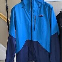 Nwt Patagonia Men's Snowshot Jacket L Balkan Blue Msrp 299 Photo