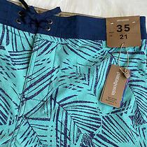 Nwt Patagonia Mens Swim Trunks Shorts Size 35 Photo
