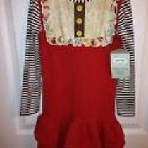 Nwt Persnickety Lulu Red Dress 7 Ruffles Photo