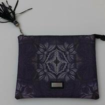 Nwt Pineda Covalin Blush Purple Floral Clutch Handbag Photo