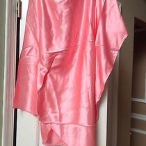 Nwt Pink Silk Satin Draped Tunic by Gold Hawk Xs 180.00 Photo