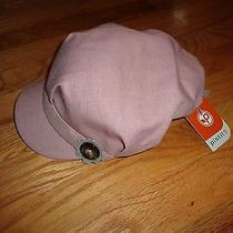Nwt Pistil Lena Casual Hat Blush Pink Flower Cut Out One Size Fits All Photo