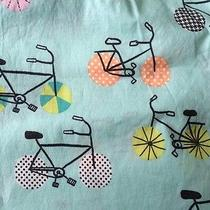 Nwt Pj Salvage Womens Bicycle Bike Cotton Pajamas Pj's Size M Medium Aqua Mint Photo