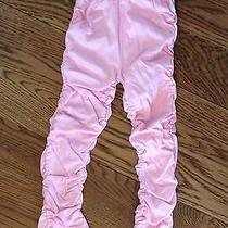 Nwt Pom Pom Size 116 Barbour Prime Rose Pink Leggings Pants Bottoms 5 6  Photo