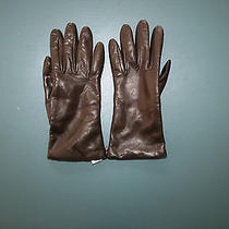 Nwt Portolano for Madewell by J. Crew Leather Gloves Size 7 Small Photo