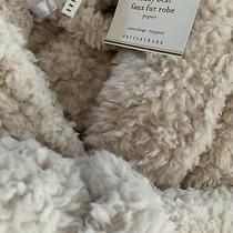 Nwt Pottery Barn Teddy Bear Faux Fur Bath Robe in Blush Extra Large Xl Photo