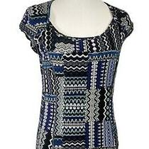 Nwt Prana Women's Kamilia Top Small Bluebell Fossil  Active Wear Size M Photo