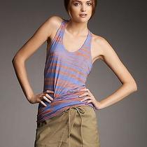 Nwt- Proenza Schouler Khaki Side-Tie Mini Skirt - Size 4 Photo