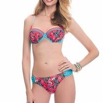 Nwt Profile Blush Gottex Coral Shangri La Underwire Bikini Sz S Dcup  220726cw Photo