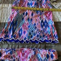 Nwt Profile Gottex 34d Tankini 2 Pc Swim Set Sz 6 Bottom Underwire Padded Bra Photo