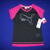 Nwt Puma Girls Shirt Size 6 Photo