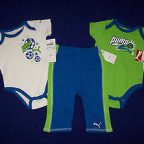 Nwt Puma Toddlers 3pc Set Size 3-6 Months Photo