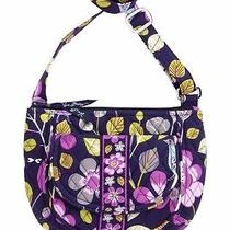 Nwt Purse Vera Bradley Purple Lizzy Shoulder Crossbody Bag Floral Nightengale Photo