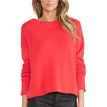 Nwt Rachel Zoe Lera Sweater Poppy Size S Photo