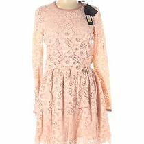 Nwt Rachel Zoe Women Pink Casual Dress 12 Photo