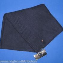 Nwt Ralph Lauren Rlx Blue 100% Cashmere Knit Large Shawl Scarf Wrap 27
